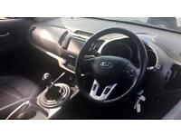 2015 Kia Sportage 1.7 CRDi ISG 3 W. Sat Nav and Manual Diesel Estate