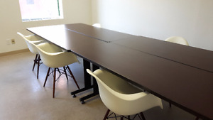 Table de travail ou conference / Worktable or conference table