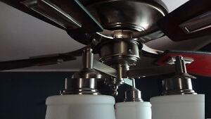 Ventilateur à 4 lumières et 5 pales 52 po Gatineau Ottawa / Gatineau Area image 2
