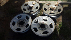 For sale 16 Inch Chev Truck rims