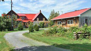 Log House, 108 acres Reduced Price $449,900
