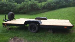 7x14 Flatbed Trailer