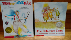2 Stephen Gammell illustrated children's picture books