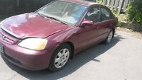 2002 Honda Civic Sedan- Best fuel saving Car