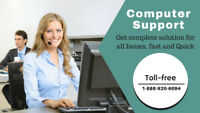 Computer Support toll-free 1-888-920-6094