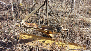 Newer three point hitch blade...draw bar also available.