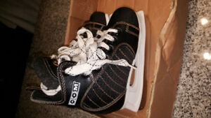 Black CCM Hockey Skates, size 12J