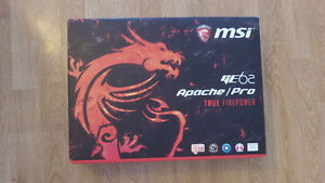 MSI Apache pro GE62 6QD Intel 6th gen i7
