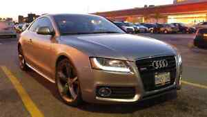 Audi A5 3.2 S-Line 6 speed manual suede premium package