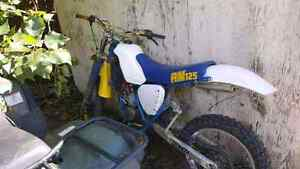 1985 rm125 NEW TOP END