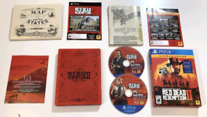 PS4 Red dead 2 ultimate edition (steel book)