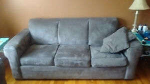 3 piece COUCH/LOVESEAT/CHAIR Micro Suede