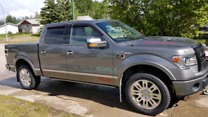 2013 Ford F150 platinum edition