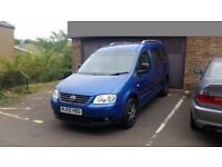 2009 Volkswagen Caddy Maxi Life 1.9 TDI LWB 7 Seated