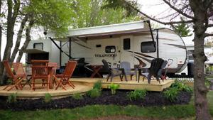 Never driven Wildwood double bunk RV