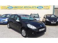 2010 (10) Renault Clio 1.2 16v BLACK I-MUSIC * IDEAL FIRST CAR * 5 DOOR *
