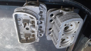 Air cooled single port heads