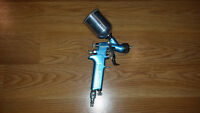 DEVILBISS SRiW HVLP GRAVITY FEED TOUCH UP PAINT GUN