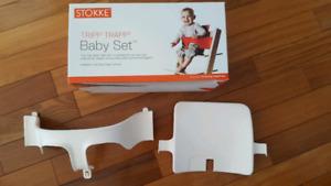 STOKKE - Baby Set blanc pour chaise tripp trapp