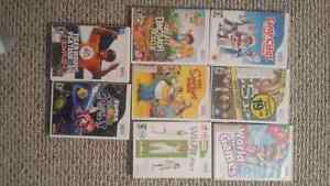 Wii games for sale 15 each