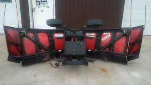 "Boss 9'2"" VXT Poly Snowplow with wings"