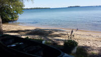 COTTAGE FOR RENT.direct waterfront on LAKE SIMCOE .ORILLIA