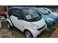 Smart fortwo 1.0 ( 61bhp ) Pure mhd 2008 only low miles 50k