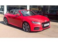 2016 Audi TT 2.0 TDI Ultra S Line 2dr with Manual Diesel Roadster