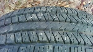 225 60 17 tire for sale.± snow