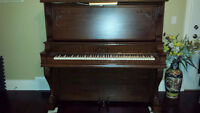 King Upright Grand Piano