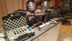Paintball kit - TIPPMANN - TPX - X7 - HAMMERHEAD Kit - HK416