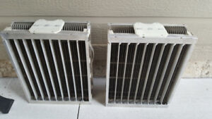 2- HONEYWELL ELECTRONIC AIR CLEANER CELLS