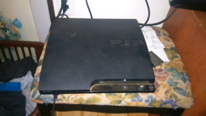 Ps3 one controller 2 games on console 50$