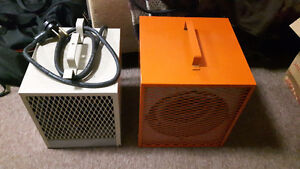 Two construction heaters. One brand new. $100/both