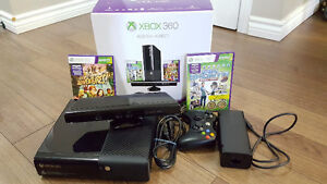 Xbox 360 4GB + Kinect with 500GB hard drive and more
