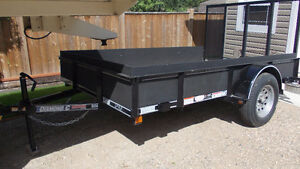 Flaman 2-wheel utility trailer