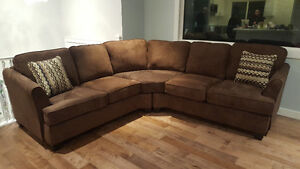 BRAND NEW CHOCOLATE BROWN SECTIONAL $800 FREE DELIVERY!!!