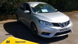 2014 Nissan Pulsar 1.5 dCi Tekna with SAT NAV Cr Manual Diesel Hatchback