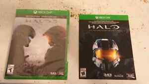 Halo 5 and Halo master chief collection