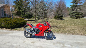 2015 Honda CBR Low KMs and Heated Grips- 3 year warranty