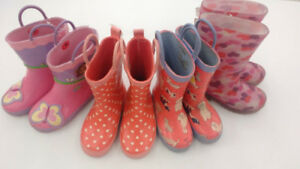 (212) Rain Boots for girls from $6