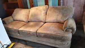 URBAN BARN COUCH AND CHAIR. DELIVERY IS EXTRA