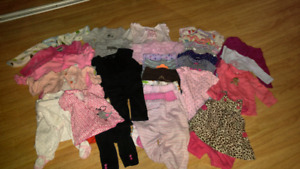 Newborn to 3 Month Baby Girl Clothing Lot 150+ Pieces