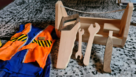 Wooden builders set