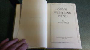 Vintage 1936 copy right  Gone with the wind book