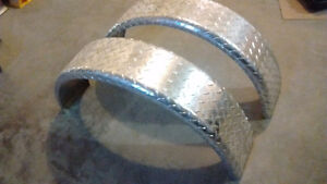 Trailer Fenders - Aluminum Checkerplate SOLD PPU
