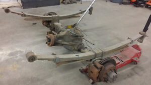 Chevy / GMC 14 bolt 3:73 posi with leaf springs