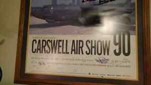Carswell Air Show picture with original signatures of pilots Kawartha Lakes Peterborough Area image 9