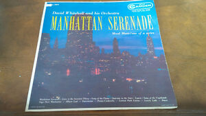 LP: Manhattan Serenade David Whitehall & His Orchestra Kitchener / Waterloo Kitchener Area image 1