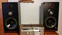 "Vintage powerful 10"" dbr loudspeakers with Pioneer Receiver -"